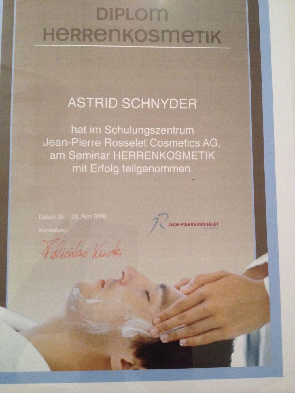 Über Mich - Astrid Schnyder GmbH